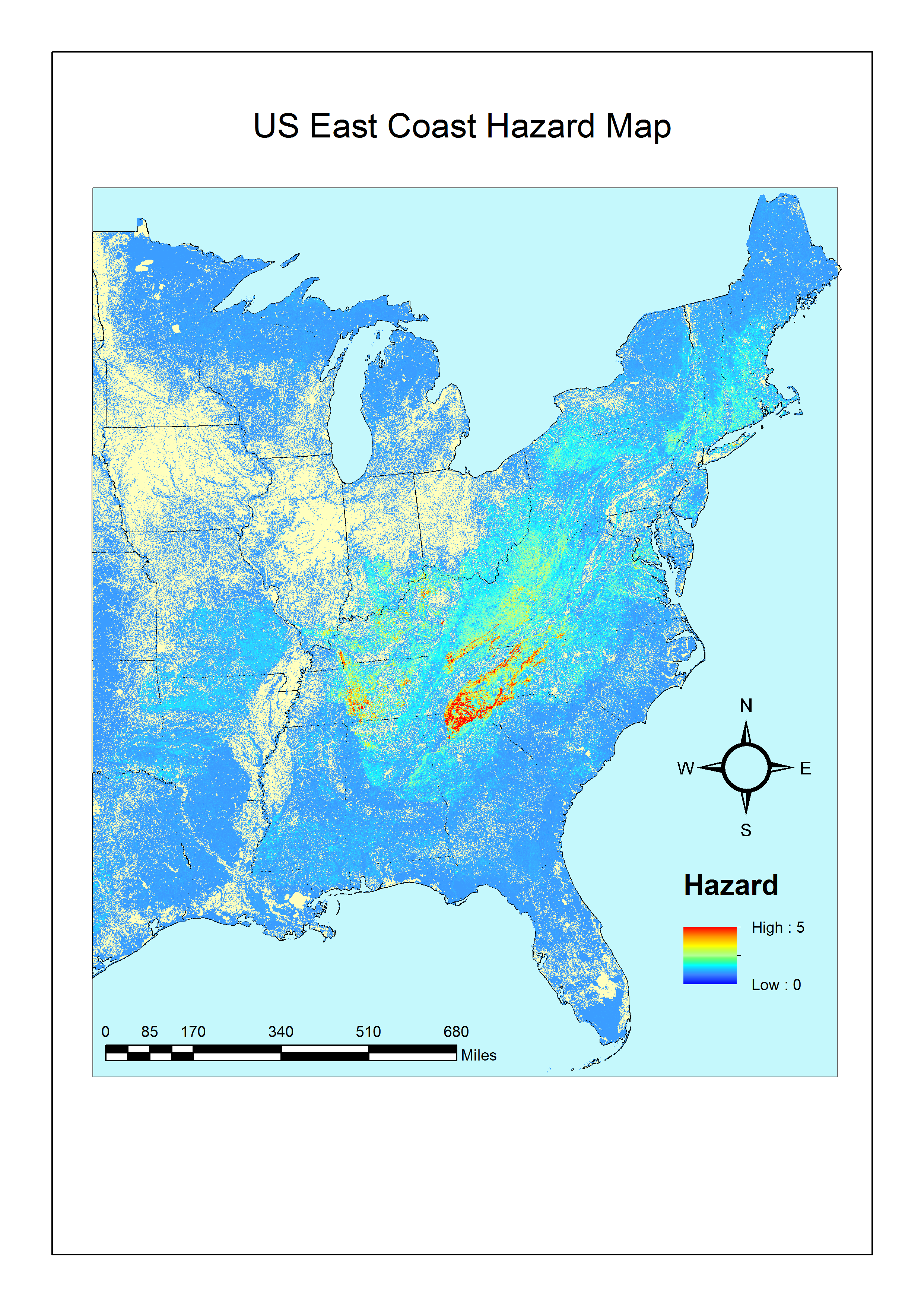 Maps Sudden Oak Death - Map of us forest regions